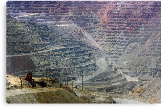 Santa Rita Mine ~ Grant Co., NM by Vicki Pelham