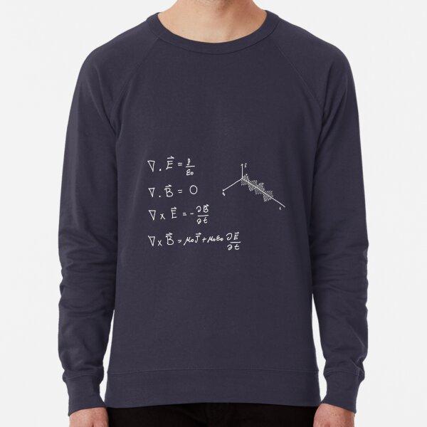 Maxwell's equations Lightweight Sweatshirt