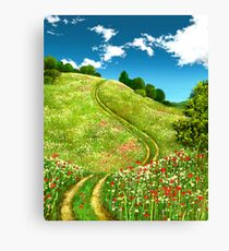 The Rise of Spring 2 Canvas Print