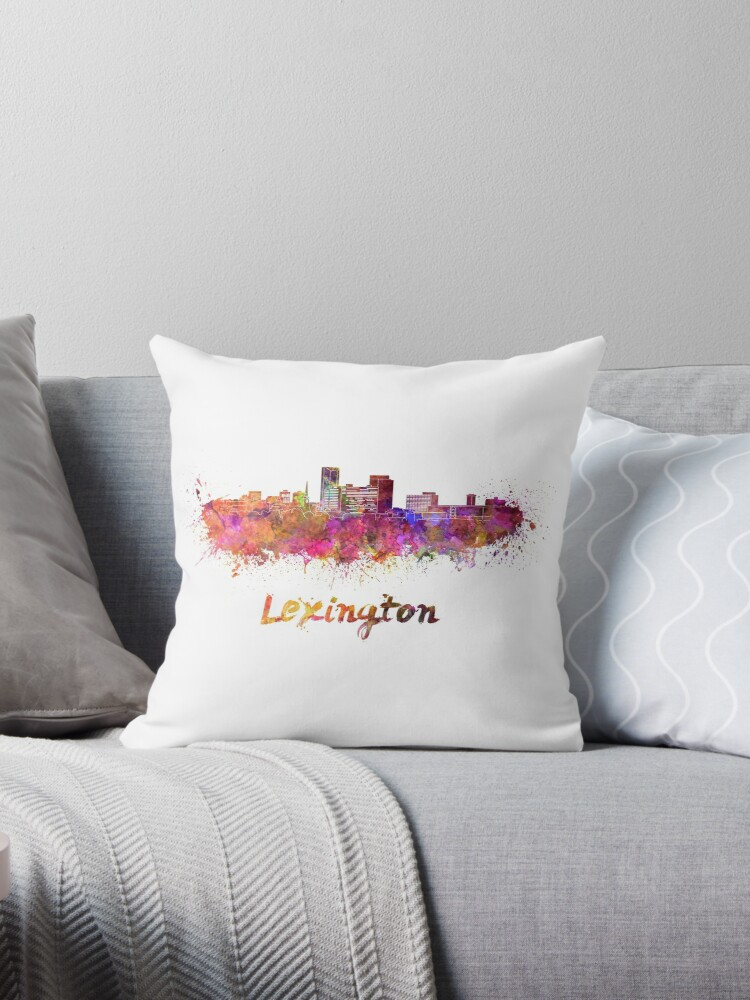 Lexington-Skyline im Aquarell von paulrommer