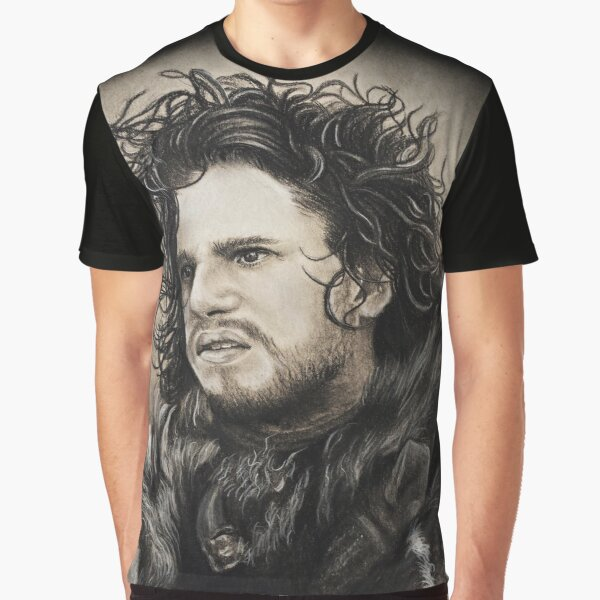 Jon Snow Graphic T-Shirt