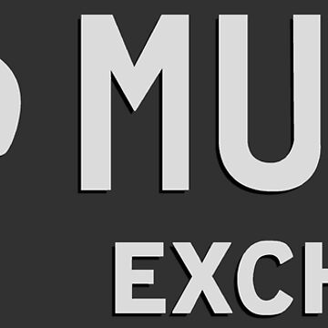 Ray's Music Exchange - Bespoke Text (Store Sign) Bright Print by thedrumstick