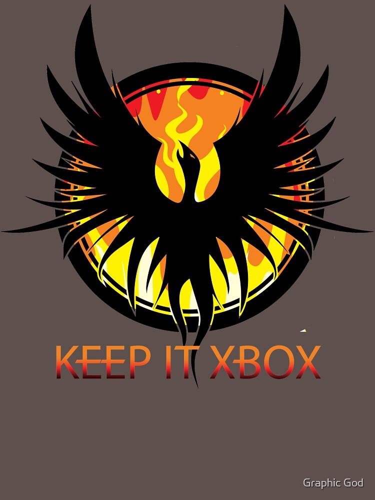 Blazing Phoenix - Keep It XBOX by willijay