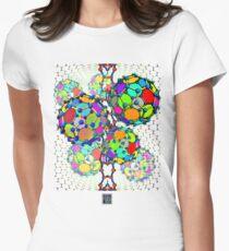 """Buckyball Nanos""© Womens Fitted T-Shirt"