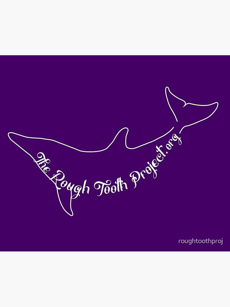 Purple Dolphin Stuff by roughtoothproj
