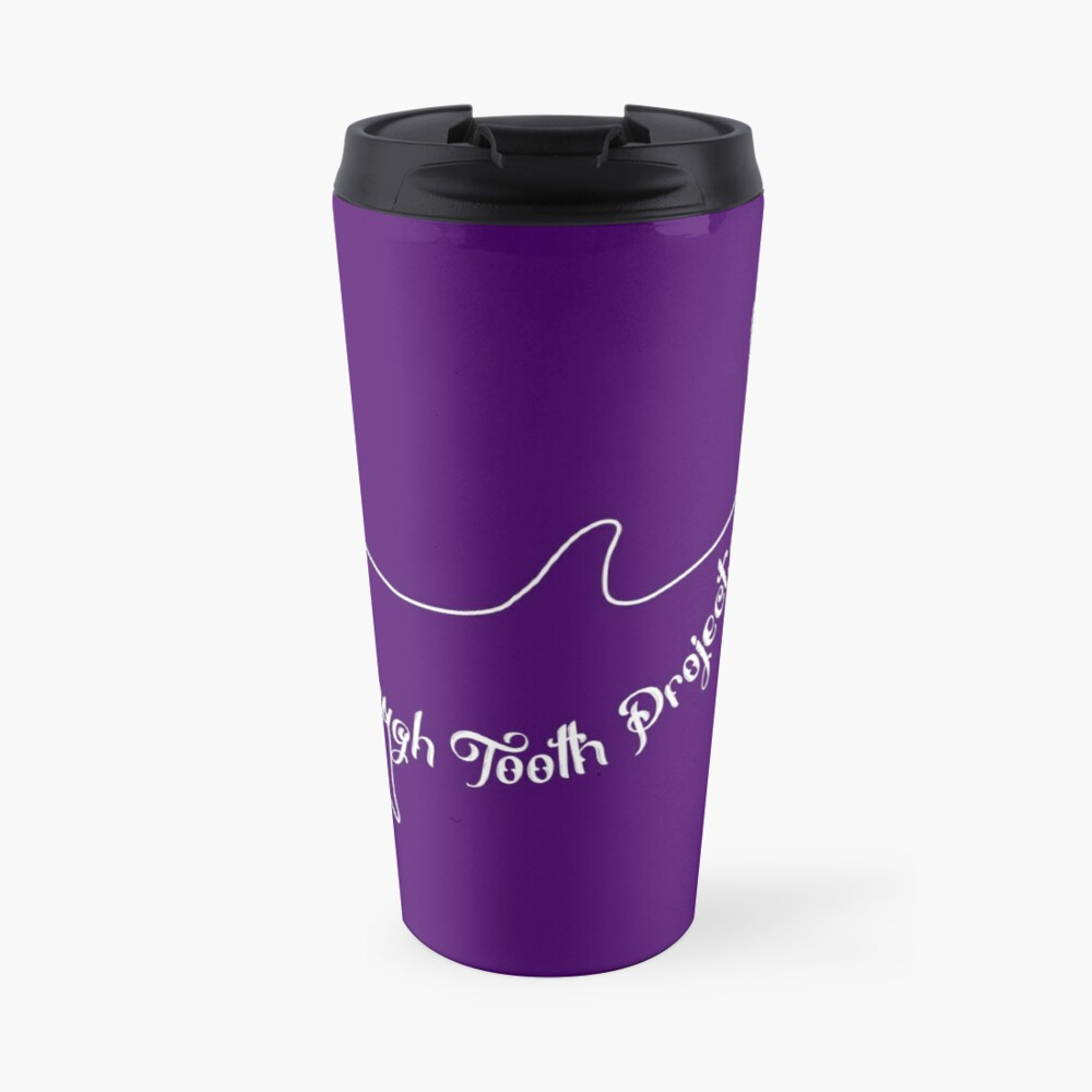 Purple Dolphin Stuff Travel Mug