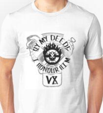 By my deeds I honour him Unisex T-Shirt