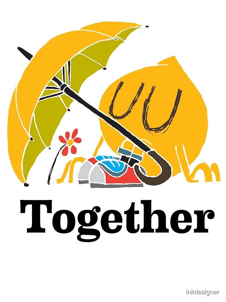 Together by inkdesigner