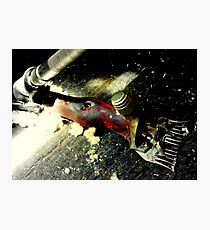 Click Go The Shears Photographic Print