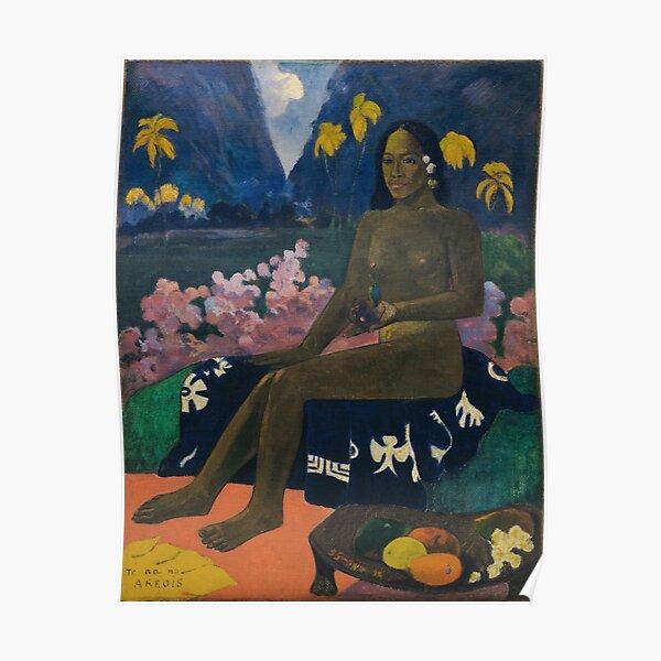 Paul Gauguin - Te aa no areois Poster