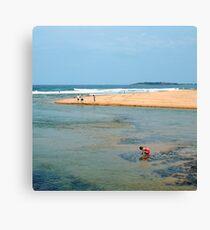 Narrabeen Beach, Sydney,  Australia Canvas Print