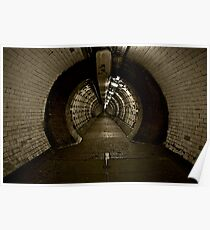 Greenwich Tunnel Poster