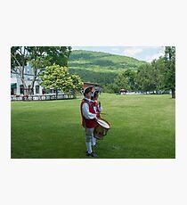 Fort William Henry Inn Photographic Print