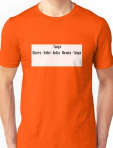 Phonetic t shirt Unisex T-Shirt