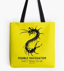 The ORIGINAL Nimble Navigator - Don't Tread On Me by Centipede Nation Tote Bag