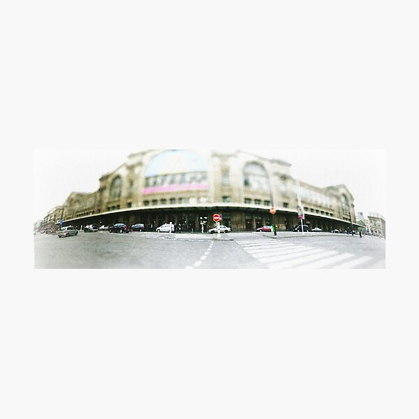 Paris - Gare du nord Photographic Print