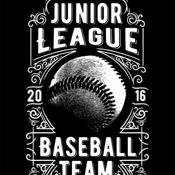 Junior league baseball team by criarte
