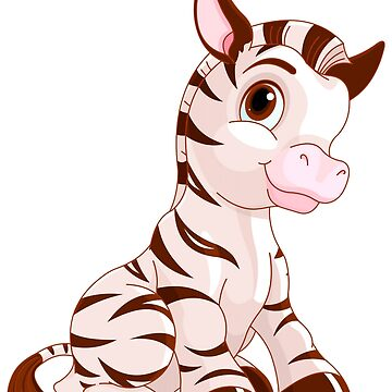 Cute zebra by criarte