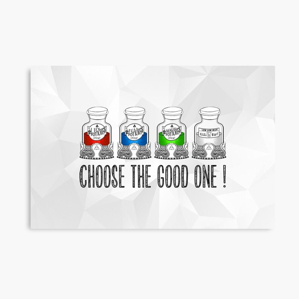 ¡Elige el bueno! Lienzo