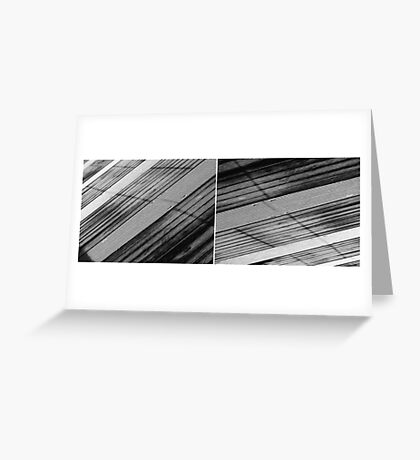 Floating Bridge (diptych 5/6) Greeting Card