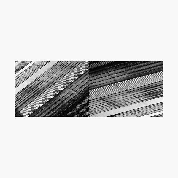 Floating Bridge (diptych 5/6) Photographic Print