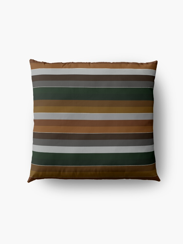 Alternate view of Classic Stripes Floor Pillow