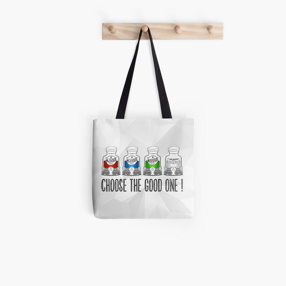 ¡Elige el bueno! Bolsa de tela