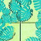 Vapor Wave Palm Leaves by savesarah