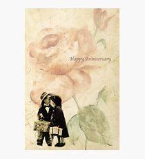 Happy Anniversary Photographic Print