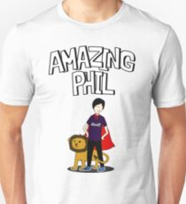 Amazing Phil the Superhero Unisex T-Shirt