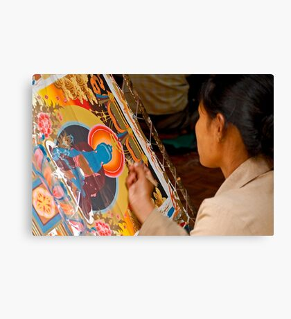 Tibetan art Canvas Print
