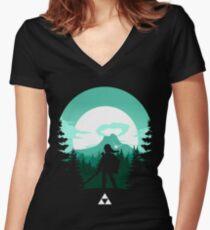 The Legend of Zelda (Green) Shirt mit V-Ausschnitt