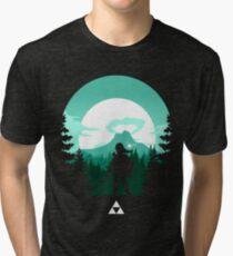 The Legend of Zelda (Green) Tri-blend T-Shirt