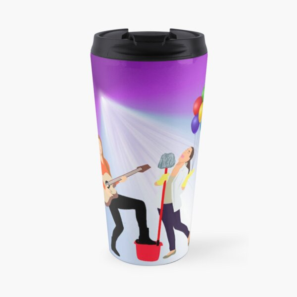 Music is everywhere Travel Mug