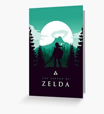 The Legend of Zelda (Green) Greeting Card