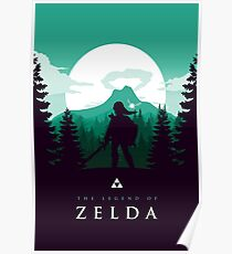 The Legend of Zelda (Green) Poster