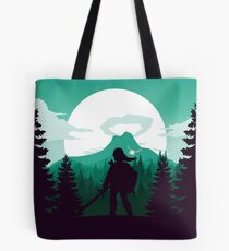 The Legend of Zelda (Green) Tote Bag