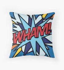 Comic Book Pop Art WHAM Superhero  Floor Pillow