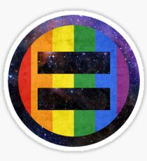 Equality Pride Universe Sticker