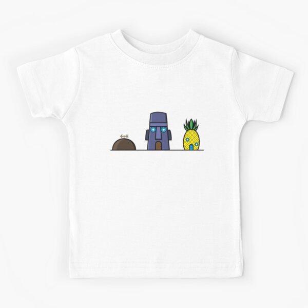 Houses of SpongeBob SquarePants Kids T-Shirt