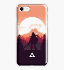 The Legend of Zelda (Orange) iPhone Case/Skin