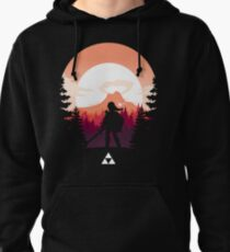 The Legend of Zelda (Orange) Pullover Hoodie