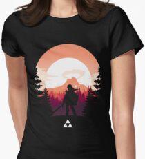 The Legend of Zelda (Orange) Women's Fitted T-Shirt