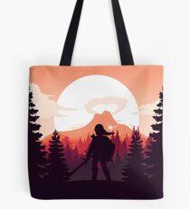 The Legend of Zelda (Orange) Tote Bag