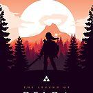 The Legend of Zelda (Orange) by kables