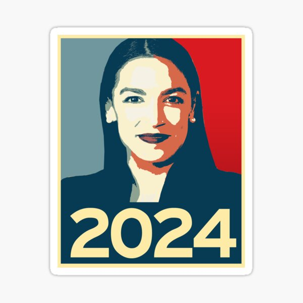 Alexandria Ocasio-Cortez 2024 Sticker