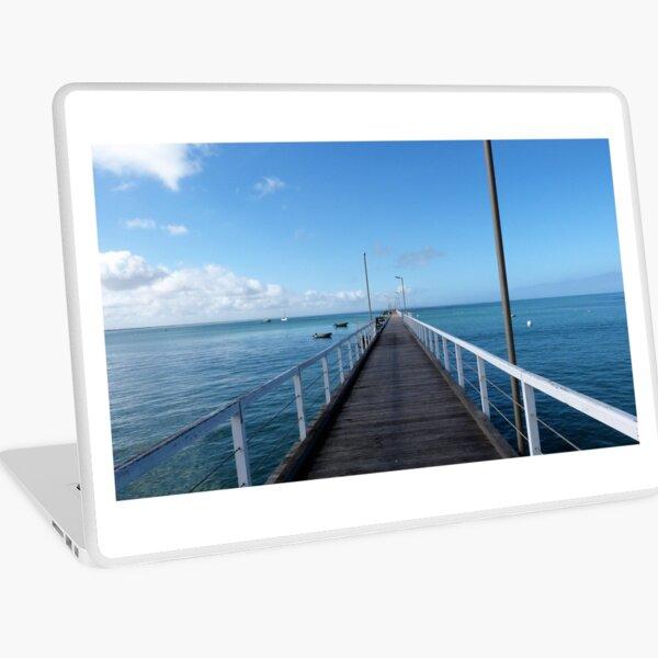 Beachport Jetty, Limestone Coast, South Australia. Laptop Skin