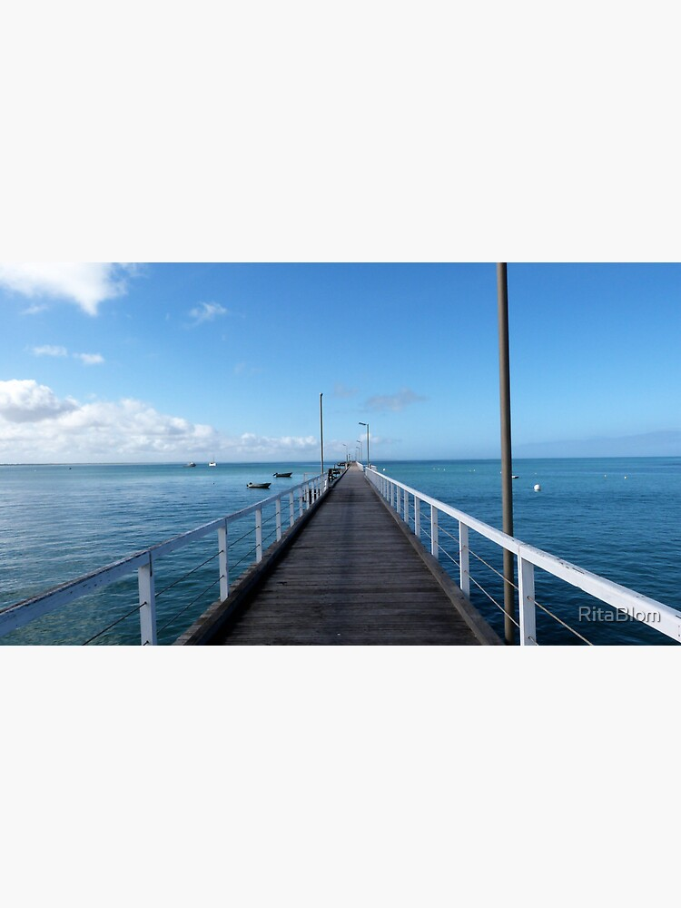 Beachport Jetty, Limestone Coast, South Australia. by RitaBlom