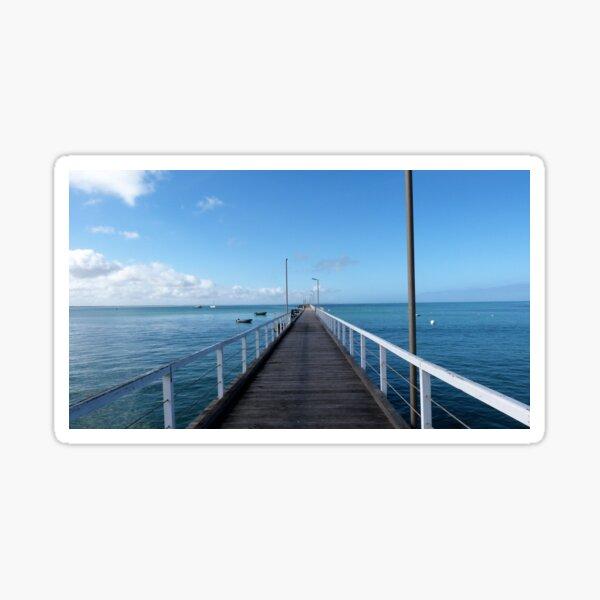 Beachport Jetty, Limestone Coast, South Australia. Sticker
