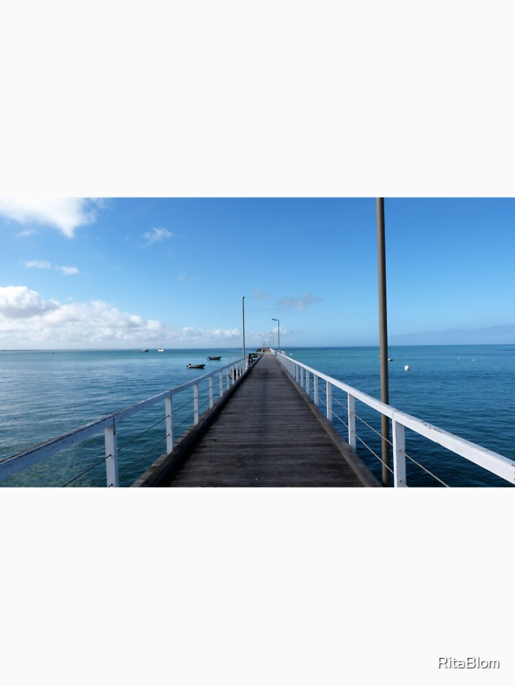 Beachport Jetty, Limestone Coast, South Australia. by RitaBlom